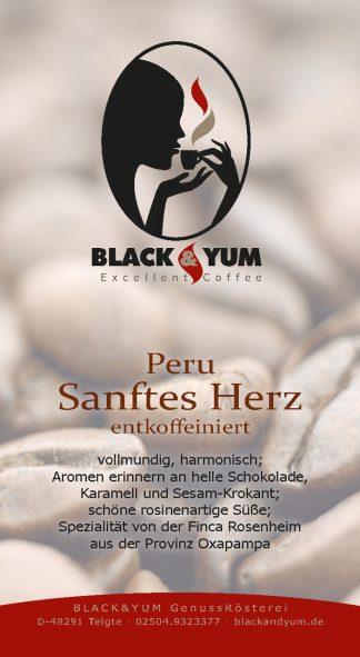 """BLACK & YUM entkoffeiniert/""""koffeinfrei"""""""